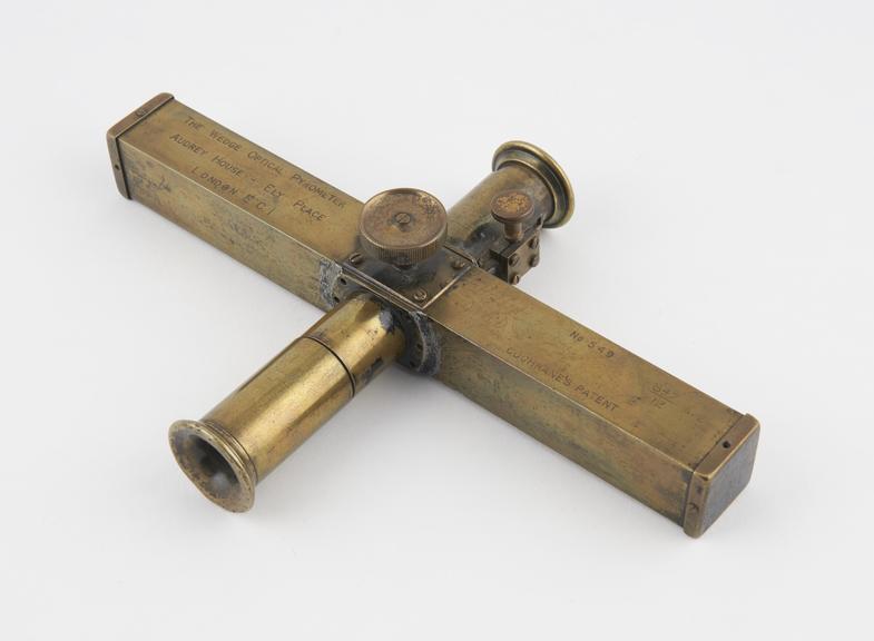 Wedge Optical Pyrometer