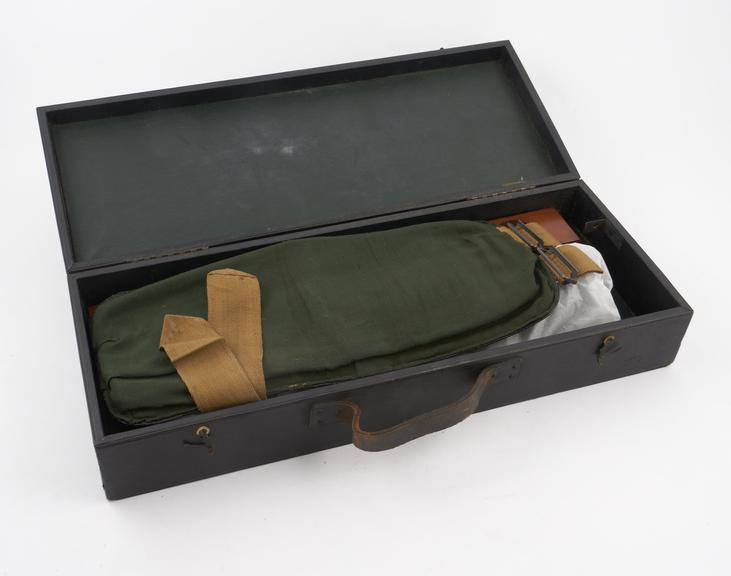 The Harley' sphygmomanometer by S. Maw Son and Sons, in case, English, early 20th century'