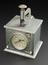 Time Recorder by Warwick Time Stamp Co.  View of whole object on grey graduated background
