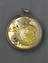 """Early balance spring watch by Thomas Tompion with """"Regulator"""" type dial, in silver case (1675-1679). Top view (back,"""