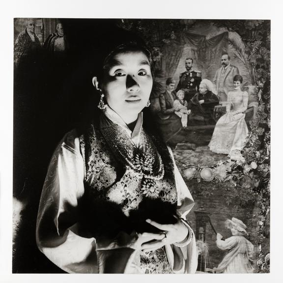 Kodak Collection. Silver gelatin print. Photograph by Sir Cecil Beaton of Ashi Kesang Choden, Queen of Bhutan.