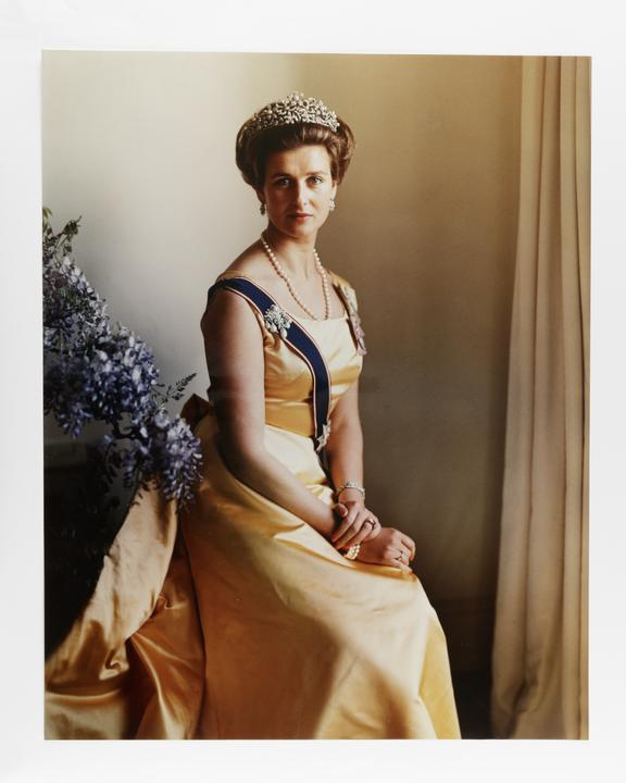 Kodak Collection. Chromogenic print. Photograph by Sir Cecil Beaton of Princess Alexandra, Lady Ogilvy. An alternate