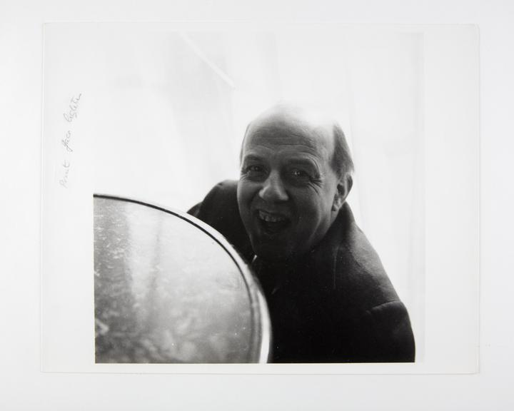 Andor Kraszna Krausz Collection. Silver gelatin copy print made ca.1970s. Photograph by Sir Cecil Beaton of writer Sir