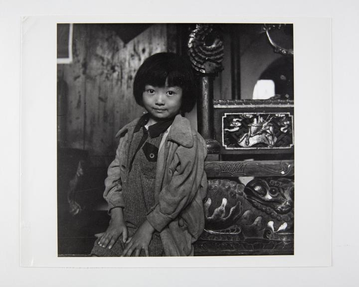 Andor Kraszna Krausz Collection. Silver gelatin copy print made ca.1970s. Photograph by Sir Cecil Beaton of a young