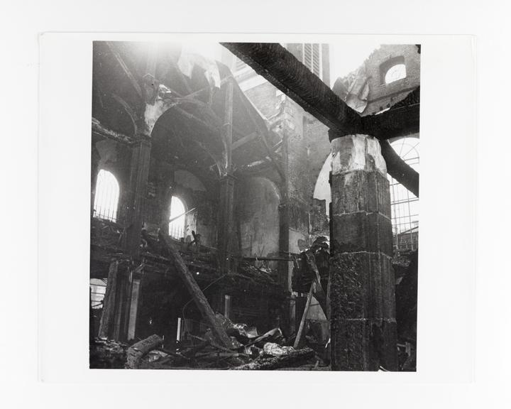 Andor Kraszna Krausz Collection. Silver gelatin copy print made ca.1970s. Image by Cecil Beaton showing bomb damage to