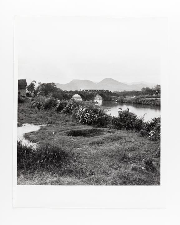 Andor Kraszna Krausz Collection. Silver gelatin copy print made ca.1970s. Photograph by Sir Cecil Beaton of a bridge