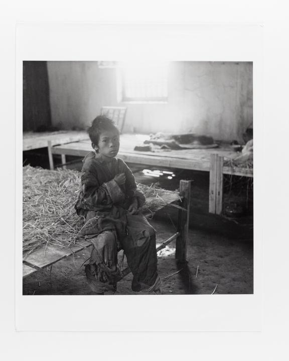 Andor Kraszna Krausz Collection. Silver gelatin copy print made ca.1970s. Photograph by Sir Cecil Beaton of a young boy