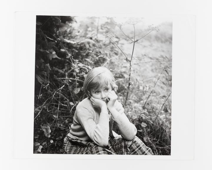 Andor Kraszna Krausz Collection. Silver gelatin copy print made ca.1970s. Photograph by Sir Cecil Beaton of his niece,