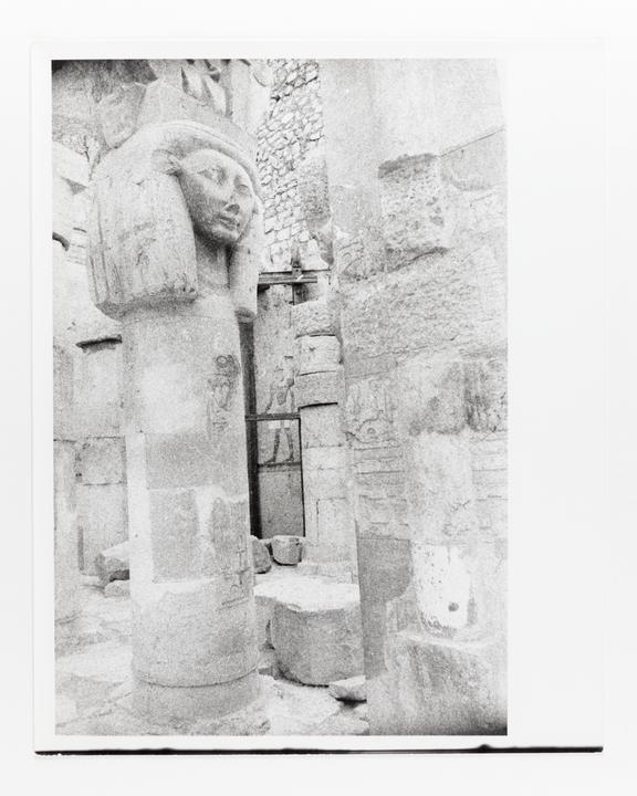 Andor Kraszna Krausz Collection. Silver gelatin copy print made ca.1970s. Photograph by Sir Cecil Beaton of an Egyptian