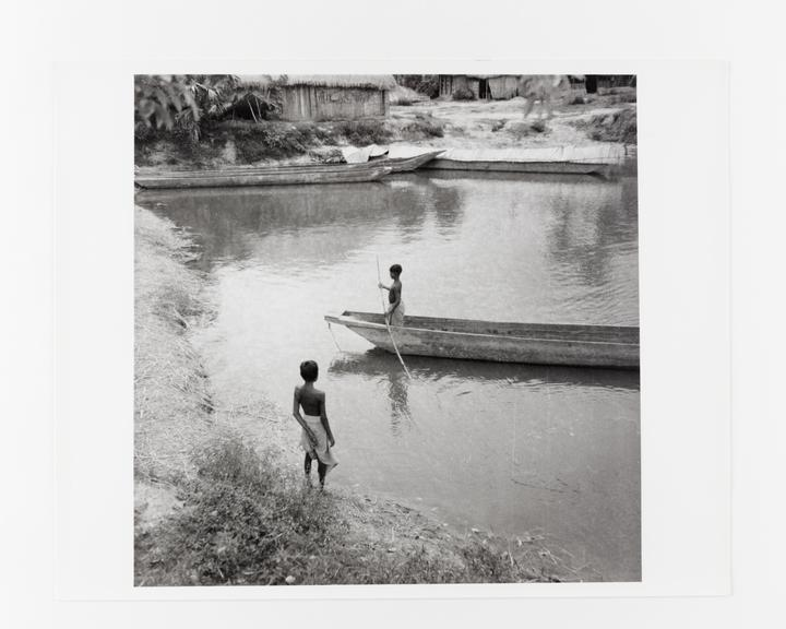 Andor Kraszna Krausz Collection. Silver gelatin copy print made ca.1970s. Photograph by Sir Cecil Beaton of two boys