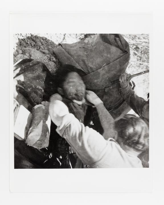 Andor Kraszna Krausz Collection. Silver gelatin copy print made ca.1970s. Photograph by Sir Cecil Beaton of a wounded