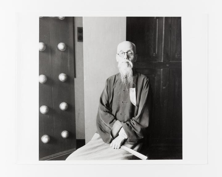 Andor Kraszna Krausz Collection. Silver gelatin copy print made ca.1970s. Photograph by Sir Cecil Beaton of Mr Chow