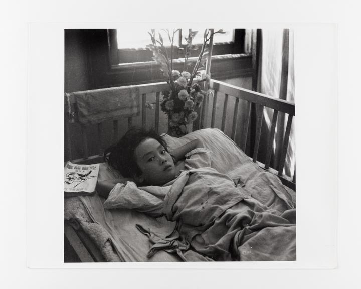 Andor Kraszna Krausz Collection. Silver gelatin copy print made ca.1970s. Photograph by Sir Cecil Beaton of a child in
