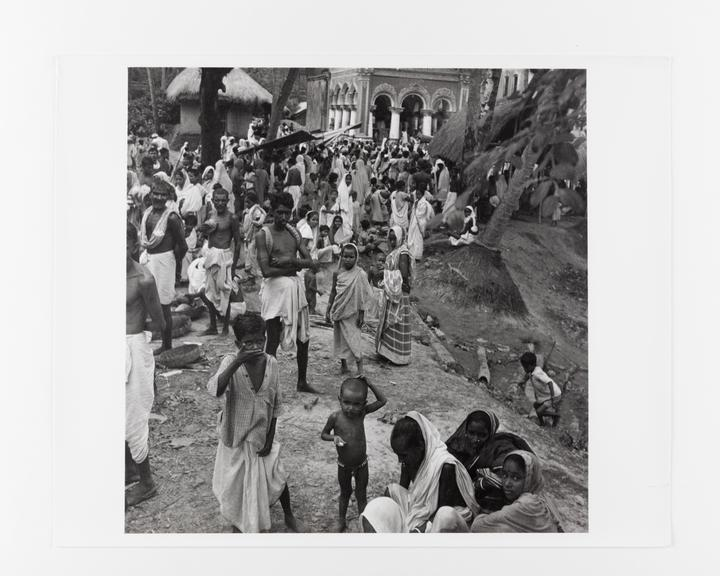 Andor Kraszna Krausz Collection. Silver gelatin copy print made ca.1970s. Photograph by Sir Cecil Beaton of a Bengali