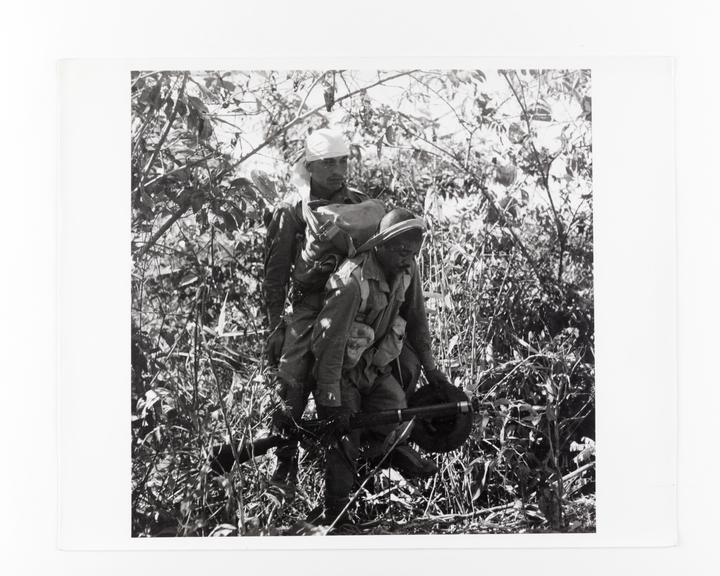 Andor Kraszna Krausz Collection. Silver gelatin copy print made ca.1970s. Photograph by Sir Cecil Beaton of a Ghurka