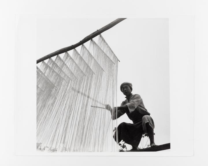 Andor Kraszna Krausz Collection. Silver gelatin copy print made ca.1970s. Photograph by Sir Cecil Beaton showing a man