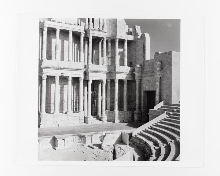 Andor Kraszna Krausz Collection. Silver gelatin copy print made ca.1970s. Photograph by Sir Cecil Beaton of ruins of a