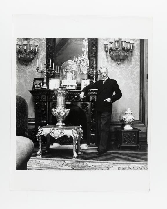 Andor Kraszna Krausz Collection. Silver gelatin copy print made ca.1970s. Photograph by Sir Cecil Beaton of General
