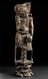 Carved wooden statue of T'ieh-Kuai Li, one of the 8 Taoist Immortals who came back in form of a beggar, probably