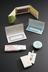 Collection of early contraceptive pills, various manufacturers, 1960-1980, with associated printed ephemera Clockwise