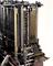 Analytical engine constructed by the late Chas. Babbage, F.R.S., (this was not put together when received and there are