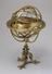 Made in 1554 by Girolamo Della Volpaia of Florence, Italy, this brass armillary sphere encloses a manuscript