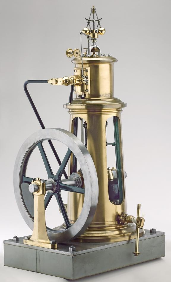 Small columnar engine used at 1862 exhibition for driving the firm's models:  Maudslay, Sons & Field