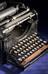 """Underwood typewriter, No.1, 10"""" Pica, No.990, 1897"""