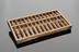Chinese abacus. The abacus supplanted the use of counting rods in China from about AD 1300, and being intrinsically