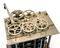 Portion of Babbage's calculating machine, Difference Engine No.1. British computing pioneer Charles Babbage's