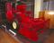 Massey-Fergusson Type 780 combine harvester, 1953-1962.  Registration number J 3162 C. Made by Massey Ferguson at their