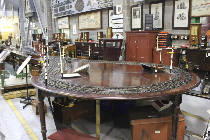 The Lancashire and Yorkshire Railway School of Signalling has been entered into the Guinness Book of Records as the oldest complete working model railway.