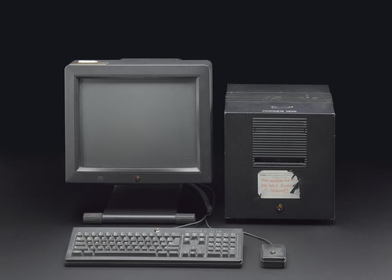 NeXT cube computer, 1990 | Science Museum Group Collection
