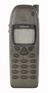 Nokia 6110 mobile telephone, Nokia, Finland, c. 1998.  From mobile phone repair workshop used in Buea, Cameroon, 2012.