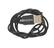 USB cable for mobile telephone, unknown maker, 1990-2013.  From mobile phone repair workshop used in Buea, Cameroon,