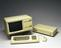 Processor Unit, with integral twin disk drives and monitor, Apple, Cupertino, California, 1983.  Model no.A6SB100P,
