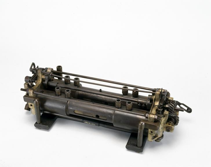 Holden motorcycle engine, 1900. This was the first type of British-built motorcycle engine to be produced in quantity