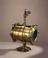Brass cylindrical condenser with glass ends.       Condensing vessel for air at high pressure, 1761. This condenser was used