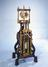 Double-barrelled air pump, 1761. This air pump by George Adams, instrument maker to the king, is the centrepiece of the