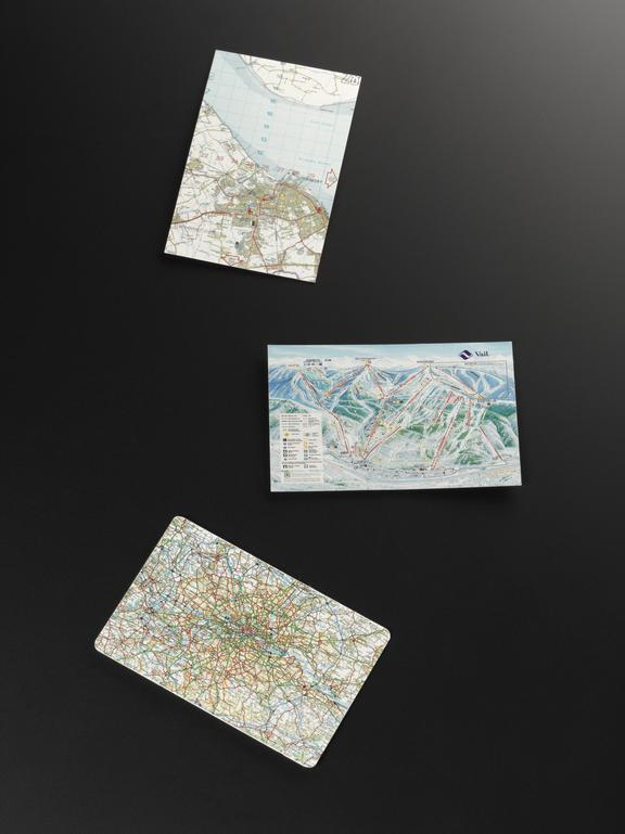 Group shot of 2015-176, Single Micromap Compact Card: Ordinance Survey map of Grimsby, 2015-196, Single Micromap