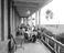 The verandah of the Greenore Hotel, 1915