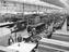 Railway carriages being constructed at Wolverton works, 1930