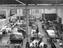 Sewing room at Wolverton railway works, 1930