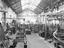 Railway carriage components under construction, about 1928.