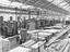 Railway wagon shop at Wolverton, about 1928