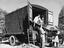 Road-rail removal van, 1937