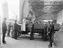 Lorry being loaded onto a ferry at Holyhead, 1926