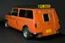 Mini Clubman adapted for use by driver, Mr Edward Freeman, disabled by the drug thalidomide, c.1978-1979.       Full 3/4