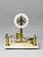 Dilatometer by Antoine-Hippolyte Pixii, Paris, France, 1830. Incomplete - lacks horizontal level. Front view. Grey