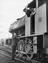 Shunter gives instructions to driver of Guide Bridge Yard Pilot on wagons to be